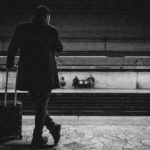 black-and-white-luggage-man-896768